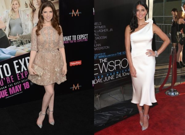 Anna Kendrick & Oliva Munn in Christian Louboutin Just Picks