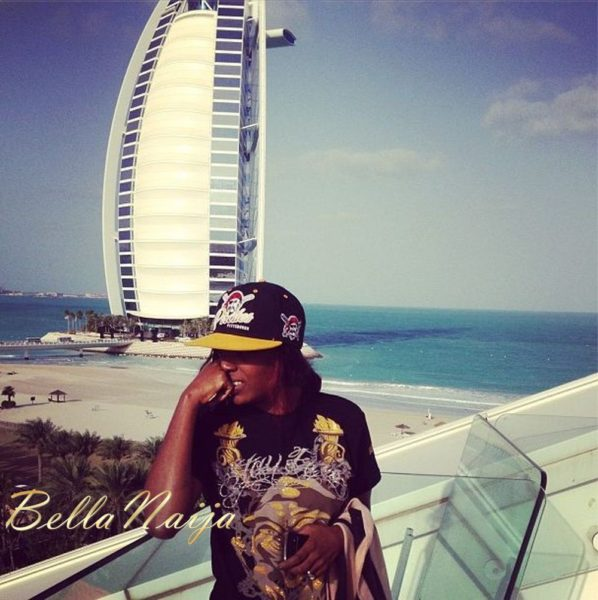 Annie Idibia Wedding Dubai - January 2013 - BellaNaija003