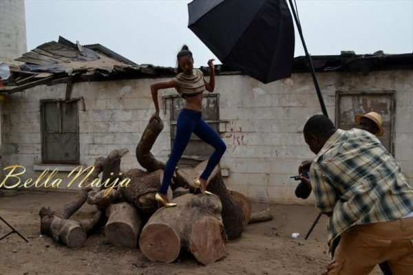 BN Exclusive_ Behind The Scenes with Yvonne Nelson - BellaNaija004