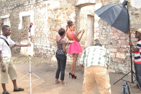 BN Exclusive_ Behind The Scenes with Yvonne Nelson - BellaNaija005