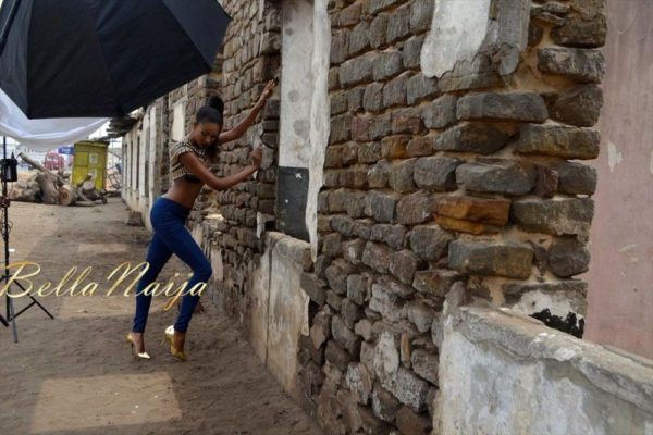 BN Exclusive_ Behind The Scenes with Yvonne Nelson - BellaNaija012