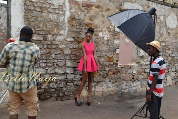 BN Exclusive_ Behind The Scenes with Yvonne Nelson - BellaNaija013