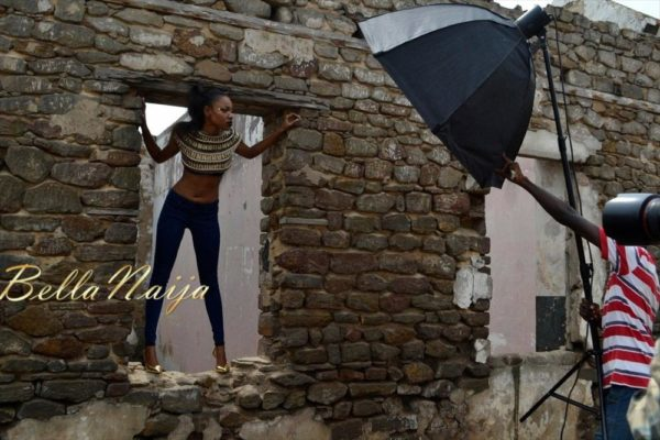 BN Exclusive_ Behind The Scenes with Yvonne Nelson - BellaNaija019