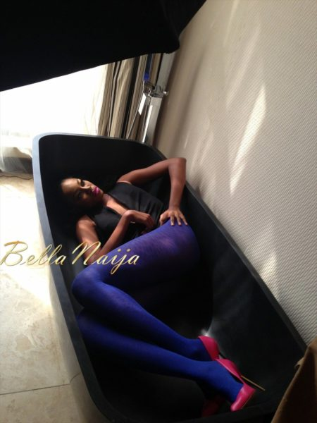 BN Exclusive_ Behind The Scenes with Yvonne Nelson - BellaNaija020