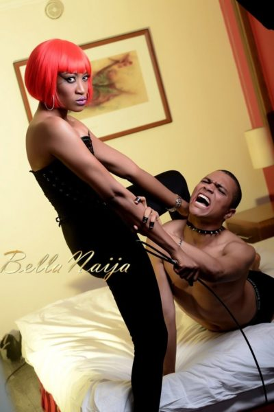 BN Exclusive_ Oge Okoye Photo Speak Filmed Shoot - Drama Queen 90- January 2013 - BellaNaija020