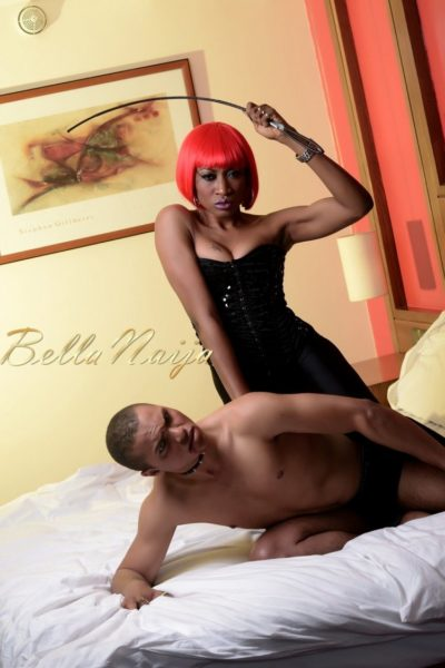 BN Exclusive_ Oge Okoye Photo Speak Filmed Shoot - Drama Queen 90- January 2013 - BellaNaija026