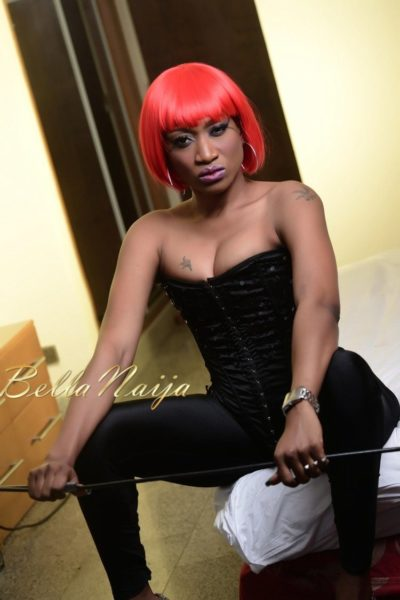 BN Exclusive_ Oge Okoye Photo Speak Filmed Shoot - Drama Queen 90- January 2013 - BellaNaija028