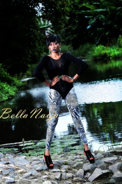 BN Exclusive_ Oge Okoye - The Fashionista - Photo Speak Filmed Shoot - January 2013 - BellaNaija012