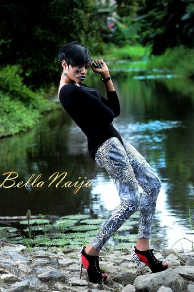 BN Exclusive_ Oge Okoye - The Fashionista - Photo Speak Filmed Shoot - January 2013 - BellaNaija016