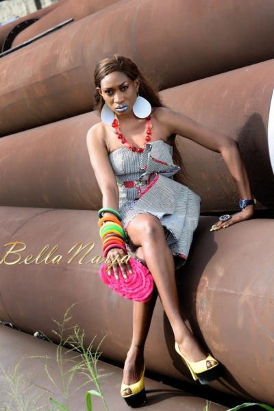 BN Exclusive_ Oge Okoye - The Fashionista - Photo Speak Filmed Shoot - January 2013 - BellaNaija037