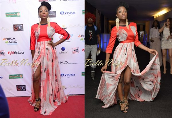 BN Red Carpet Fab - Efya - 2012 Music Meets Runway - BellaNaija