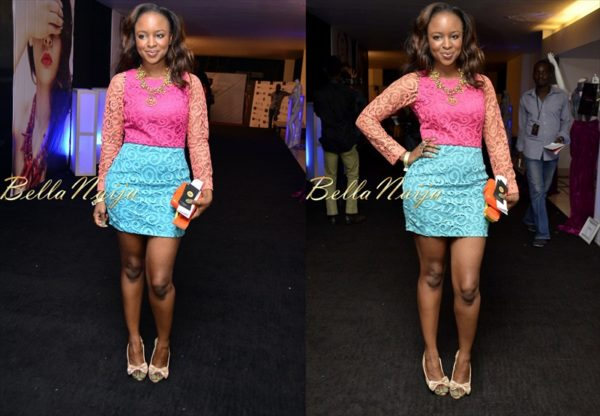 BN Red Carpet Fab - Tolu - 2012 Music Meets Runway - BellaNaija