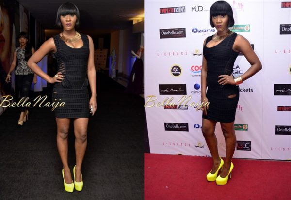 BN Red Carpet Fab - Toni Tones - 2012 Music Meets Runway - BellaNaija