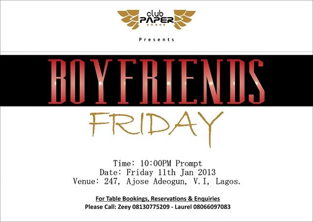 Boyfriends Friday