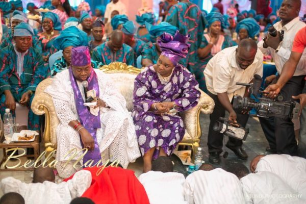 Bukki Adewumi & Sheun David-Onamusi Traditional Engagement - BellaNaija Weddings  - January 2013 - BellaNaija031