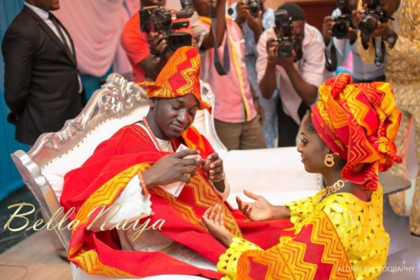 Bukki Adewumi & Sheun David-Onamusi Traditional Engagement - BellaNaija Weddings  - January 2013 - BellaNaija042