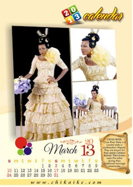 Chika Ike 2013 Calendar  - January 2013 - BellaNaija004