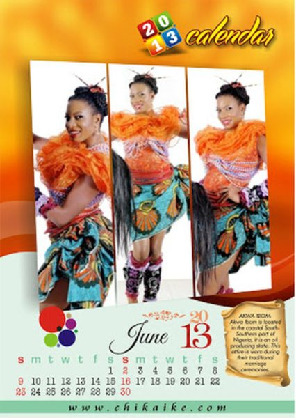 Chika Ike 2013 Calendar  - January 2013 - BellaNaija009