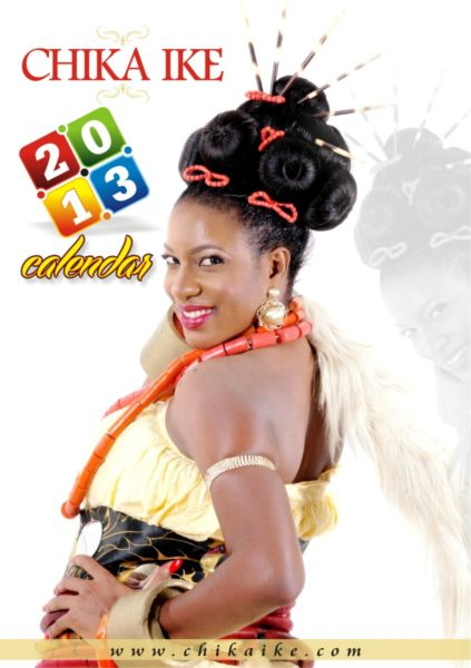 Chika Ike 2013 Calendar  - January 2013 - BellaNaija012