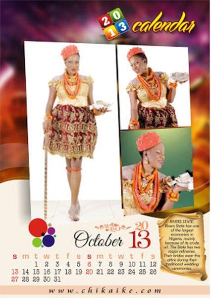 Chika Ike 2013 Calendar  - January 2013 - BellaNaija027