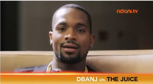Dbanj on the Juice BellaNaija