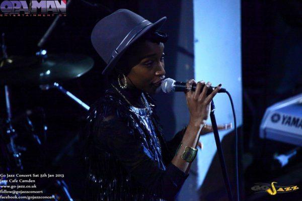 Dena Latoya (Soul singer) soundcheck