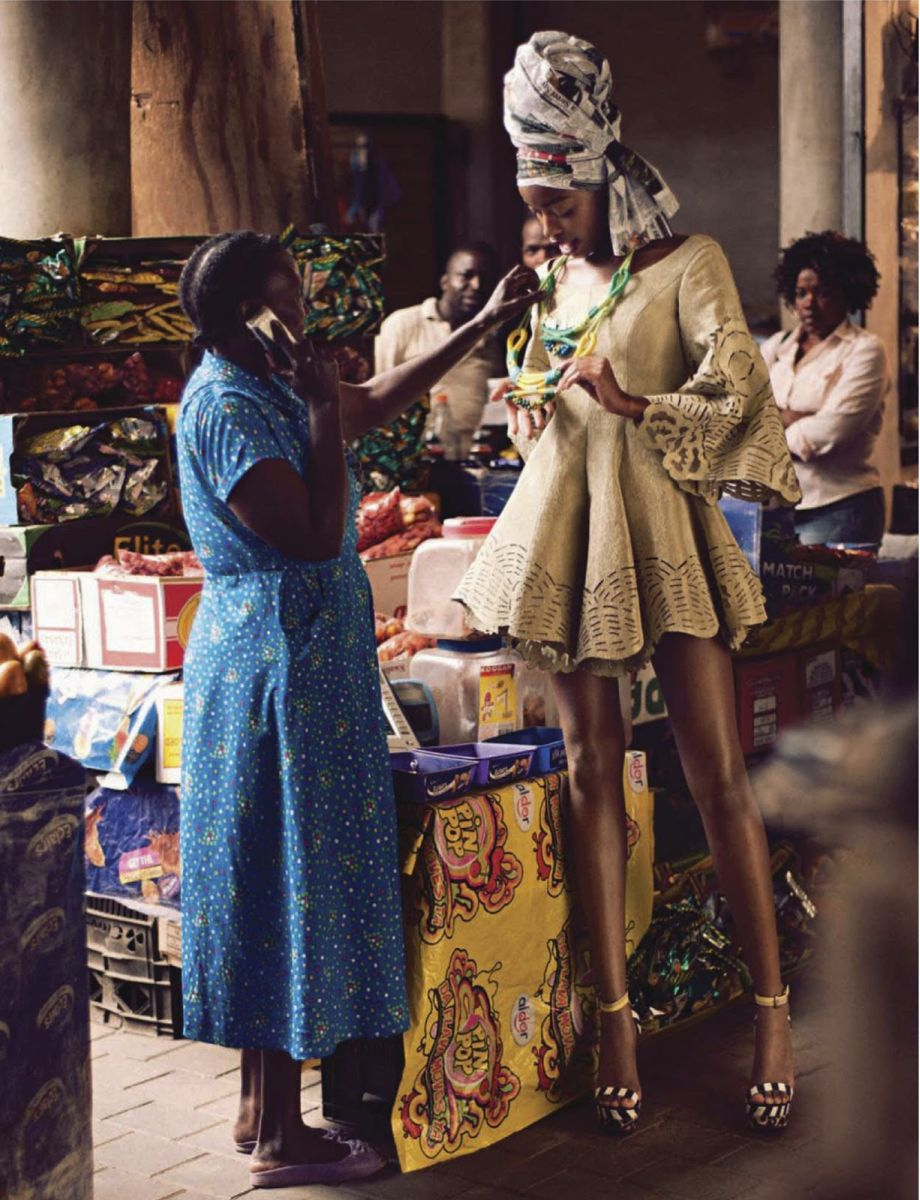 Elle South Africa Jozi Fashion Spread  - January 2013 - BellaNaija002