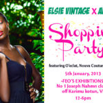 Elsie Vintage + Ariaba Shopping Party