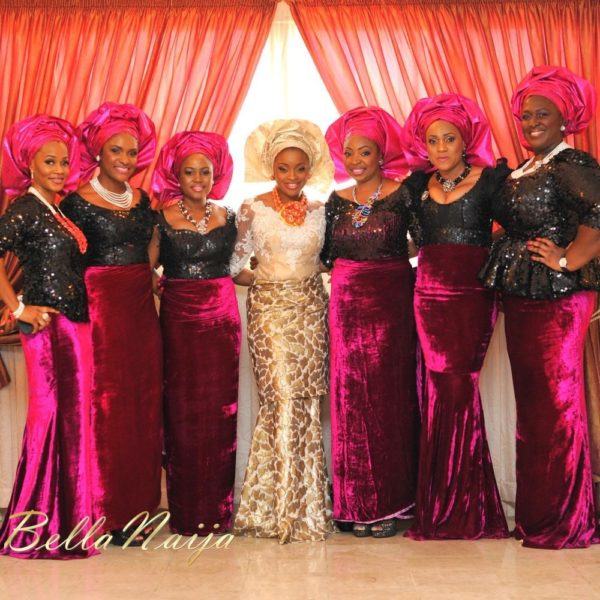 Faith Arigbe & Kenny Umenyi Traditional Wedding - January 2013 - BellaNaija007
