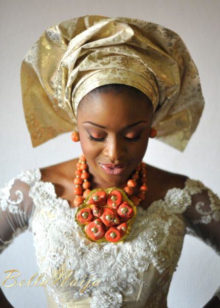 Faith Arigbe & Kenny Umenyi Traditional Wedding - January 2013 - BellaNaija008