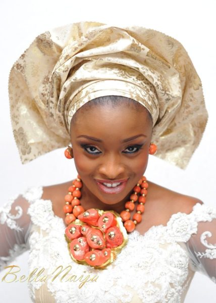 Faith Arigbe & Kenny Umenyi Traditional Wedding - January 2013 - BellaNaija009