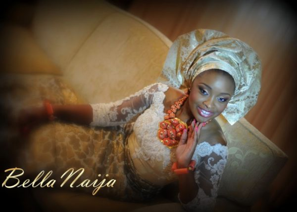 Faith Arigbe & Kenny Umenyi Traditional Wedding - January 2013 - BellaNaija014