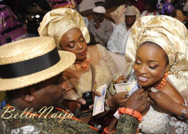 Faith Arigbe & Kenny Umenyi Traditional Wedding - January 2013 - BellaNaija035