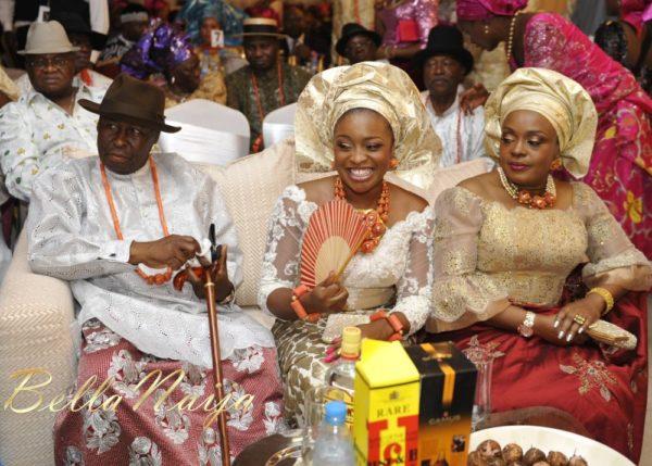 Faith Arigbe & Kenny Umenyi Traditional Wedding - January 2013 - BellaNaija036