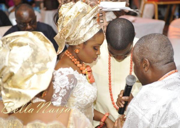 Faith Arigbe & Kenny Umenyi Traditional Wedding - January 2013 - BellaNaija038