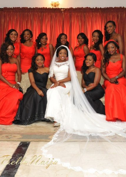 Faith Arigbe & Kenny Umenyi White Wedding 1 - January 2013 - BellaNaija009