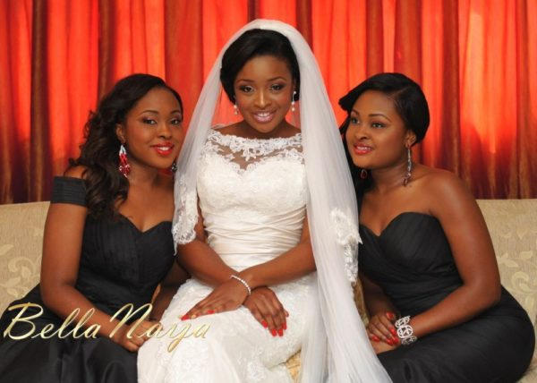 Faith Arigbe & Kenny Umenyi White Wedding 1 - January 2013 - BellaNaija010