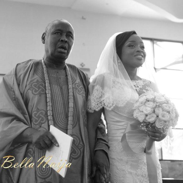 Faith Arigbe & Kenny Umenyi White Wedding 1 - January 2013 - BellaNaija014