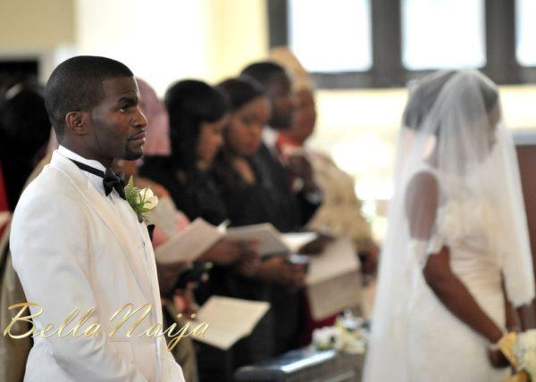 Faith Arigbe & Kenny Umenyi White Wedding 1 - January 2013 - BellaNaija015