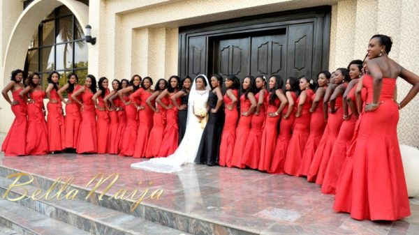 Faith Arigbe & Kenny Umenyi White Wedding 1 - January 2013 - BellaNaija019