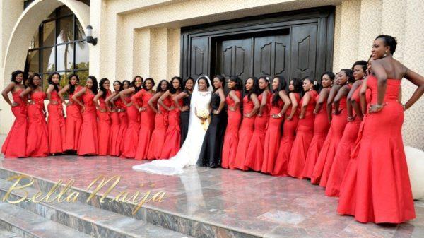 Faith Arigbe & Kenny Umenyi White Wedding 1 - January 2013 - BellaNaija019