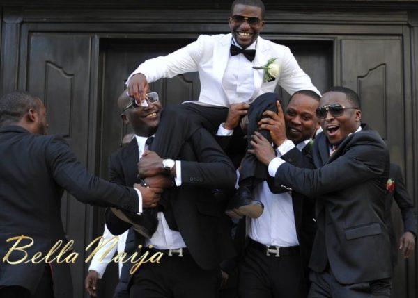 Faith Arigbe & Kenny Umenyi White Wedding 1 - January 2013 - BellaNaija022