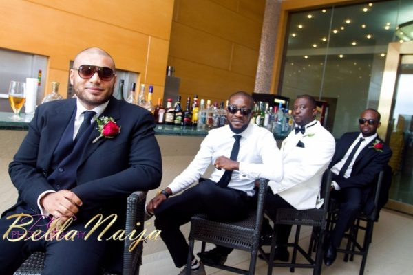 Faith Arigbe & Kenny Umenyi White Wedding 1 - January 2013 - BellaNaija047