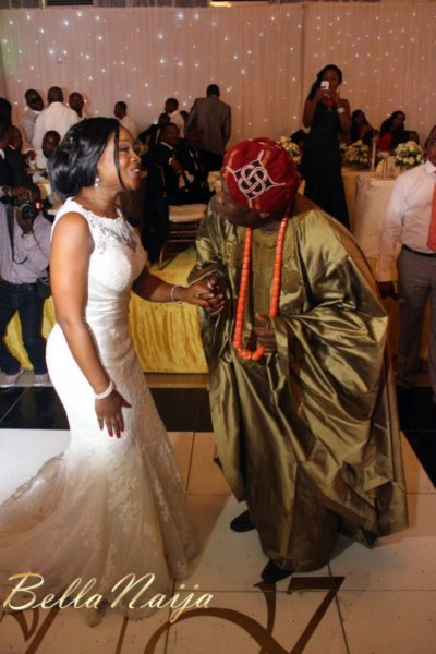 Faith Arigbe & Kenny Umenyi White Wedding 2 - January 2013 - BellaNaija299