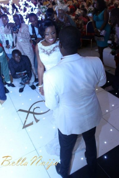 Faith Arigbe & Kenny Umenyi White Wedding 2 - January 2013 - BellaNaija321