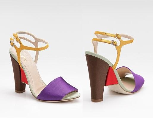 Fendi Grosgrain Sandals