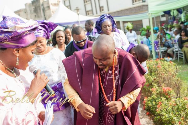 Fola Ayoola & Akin Eso of WED Magazine Traditional Engagement - January 2013 - BellaNaija015