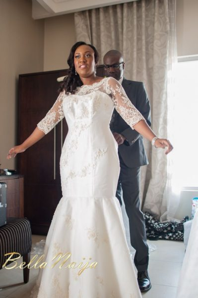 Fola Ayoola & Akin Eso of WED Magazine White Wedding - January 2013 - BellaNaija005