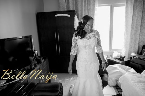Fola Ayoola & Akin Eso of WED Magazine White Wedding - January 2013 - BellaNaija006