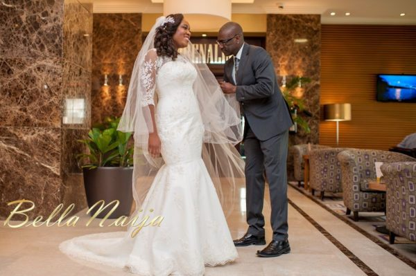 Fola Ayoola & Akin Eso of WED Magazine White Wedding - January 2013 - BellaNaija008